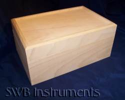 12x8x5 wood box. Other sizes available.
